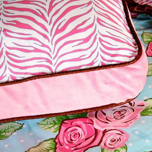 Caden Lane Boutique Girl Square Pillow