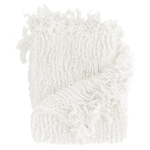 Woven Workz Charlotte Ruffled Acrylic Throw