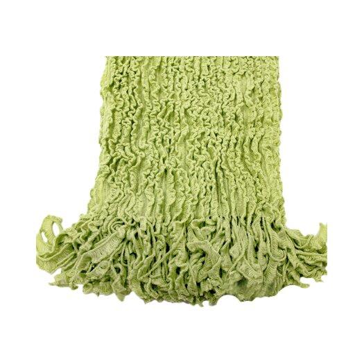 Woven Workz Charlotte Ruffled Acrylic Throw Blanket