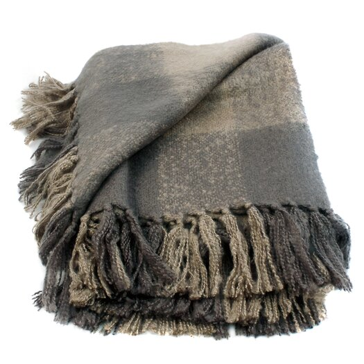 Woven Workz Annette Faux Mohair Throw