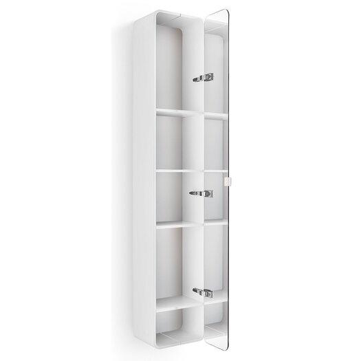 "WS Bath Collections Linea Bej 12"" x 63.39"" Surface Mount Medicine Cabinet"