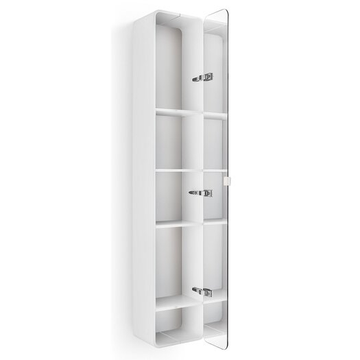 "WS Bath Collections Linea Bej 12"" x 63.39"" Surface Mount Medicine Cabinet"