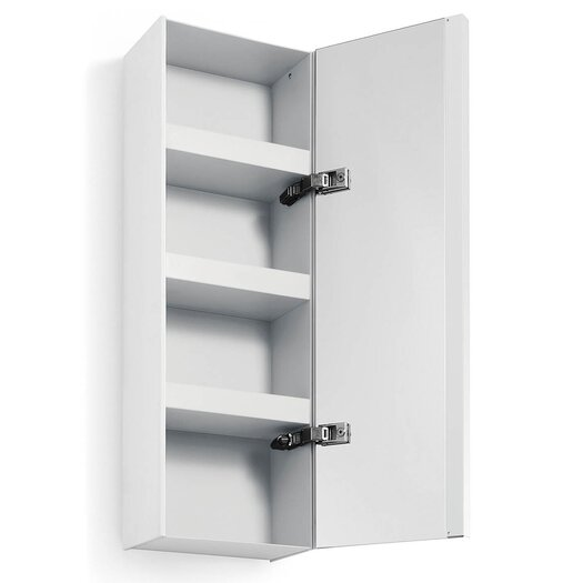 """WS Bath Collections Linea Ciacole 10.43"""" x 31.5"""" Surface Mount Medicine Cabinet"""