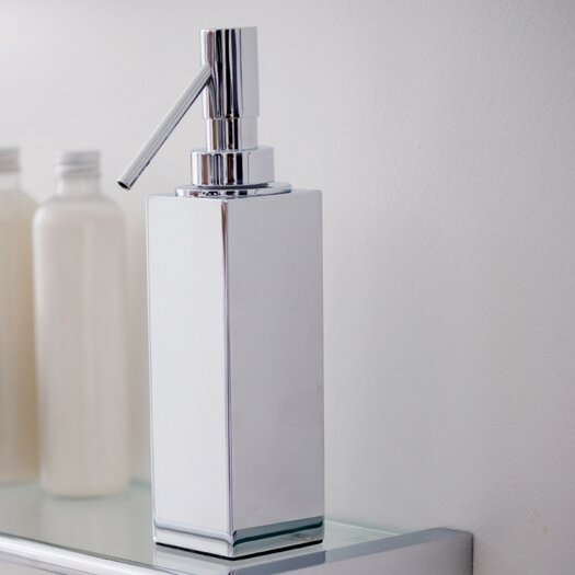 WS Bath Collections Metric Free Standing Soap Dispenser