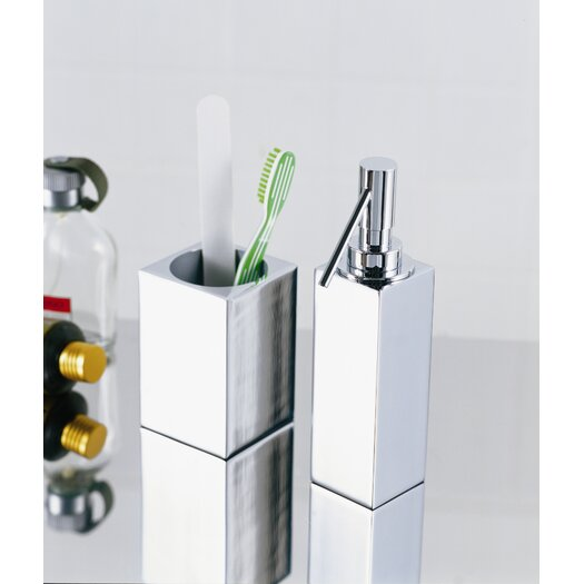 WS Bath Collections Complements Metric Free Standing Tumbler Holder