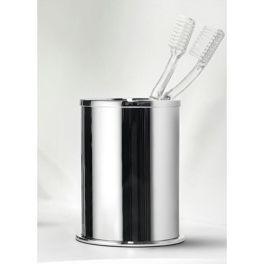 WS Bath Collections Kubic Class Toothbrush Holder