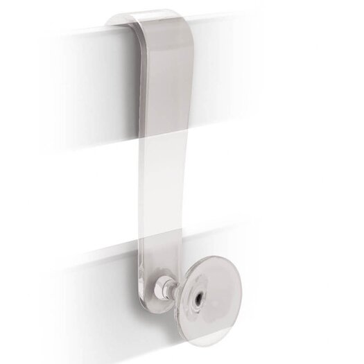 WS Bath Collections Filo Wall Mounted Over-the-Door Robe Hook