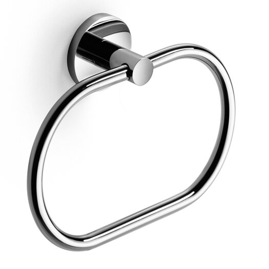 WS Bath Collections Napie Wall Mounted Bathroom Towel Ring