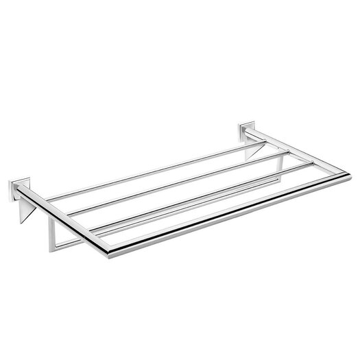 WS Bath Collections Kubic Class Wall Mounted Towel Rack