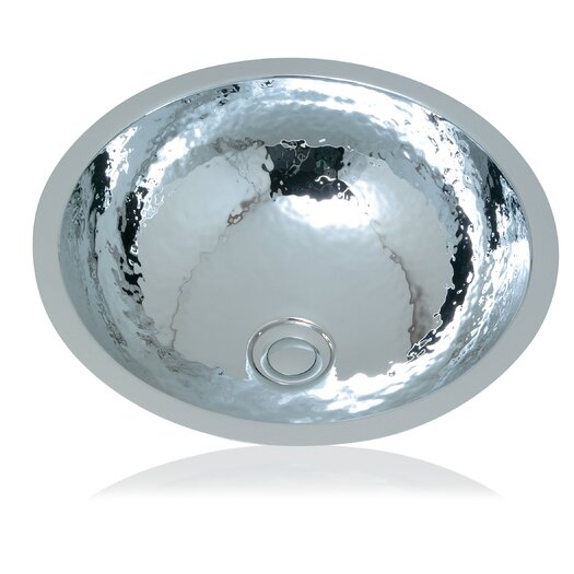 WS Bath Collections Metal Round Bathroom Sink