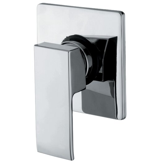 WS Bath Collections Linea Single Lever Faucet Shower Faucet Trim