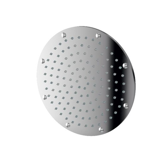 "WS Bath Collections Linea 9.1"" x 9.1"" Round Supioni Shower Head"