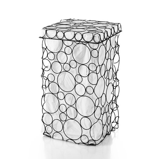 WS Bath Collections Complements Sesti Circles Laundry Basket