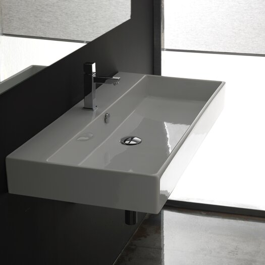 WS Bath Collections Ceramica II UnlimitedCeramic Bathroom Sink