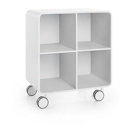 """WS Bath Collections Linea 23.6"""" Bej Storage Unit"""