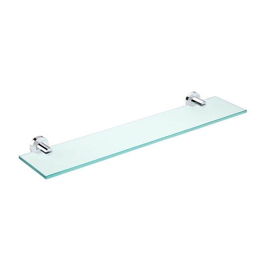 "WS Bath Collections Kubic Class 23.6"" Bathroom Shelf"