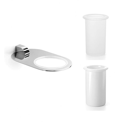 WS Bath Collections Muci Toothbrush Holder and Tumbler