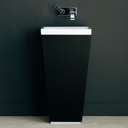 "WS Bath Collections Concert 17"" Patio Bathroom Vanity Set with Single Sink"