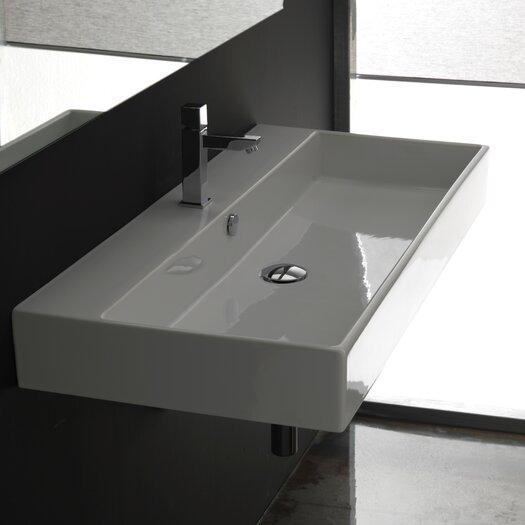 WS Bath Collections Ceramica II Unlimited Ceramic Bathroom Sink