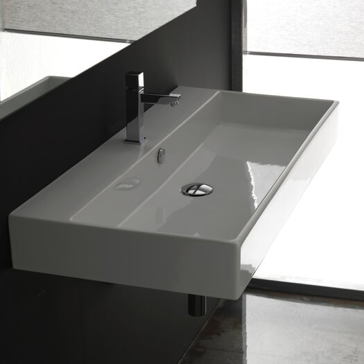 WS Bath Collections Ceramica II Unlimited Ceramic Bathroom Sink
