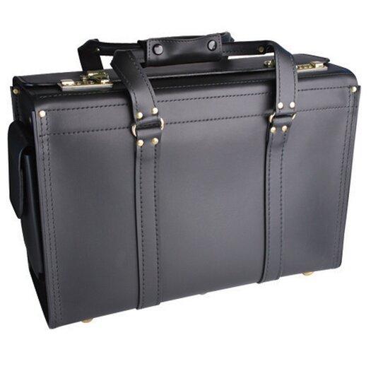 Korchmar Classic Aviator Leather Catalog Case