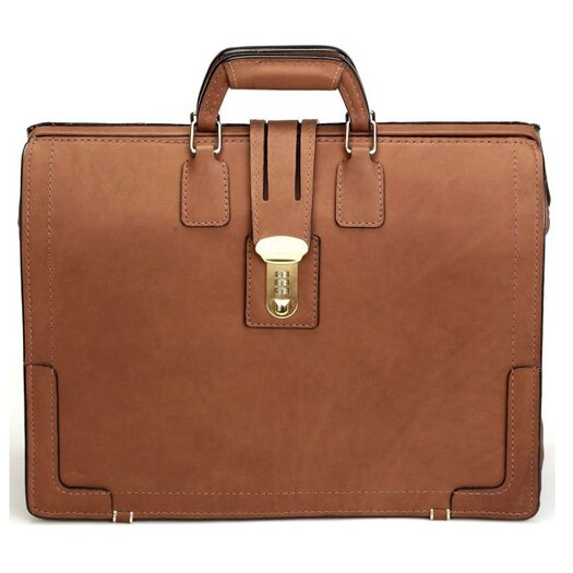 Korchmar Classic Leather Laptop Briefcase