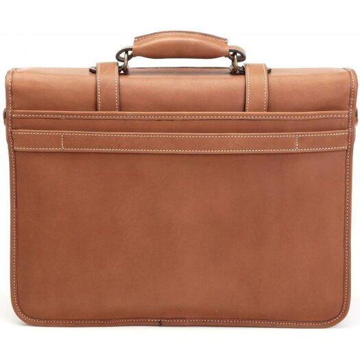 Korchmar Adventure Litigator Leather Laptop Briefcase