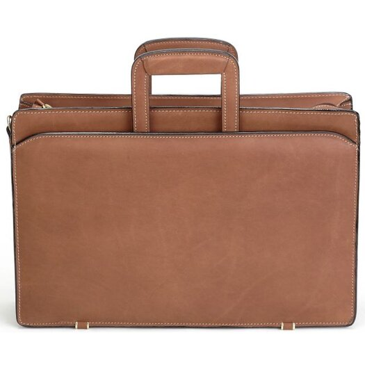 Korchmar Schlesinger Top Leather Briefcase