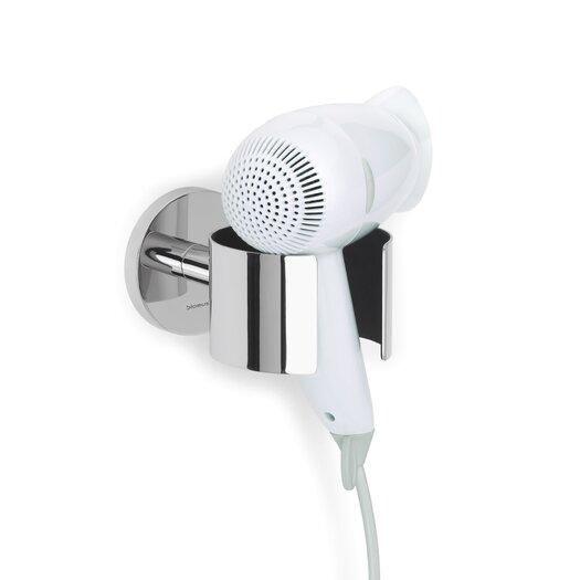 Blomus Primo Polished Hairdryer Holder by Stotz Design