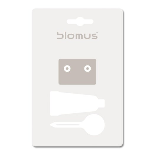 Blomus Wall Mounting Kit for Soap Dish and Toilet Paper Holder