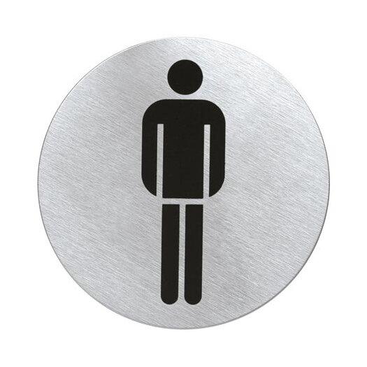 """Blomus Signo Door Plate """"Men's Room"""""""