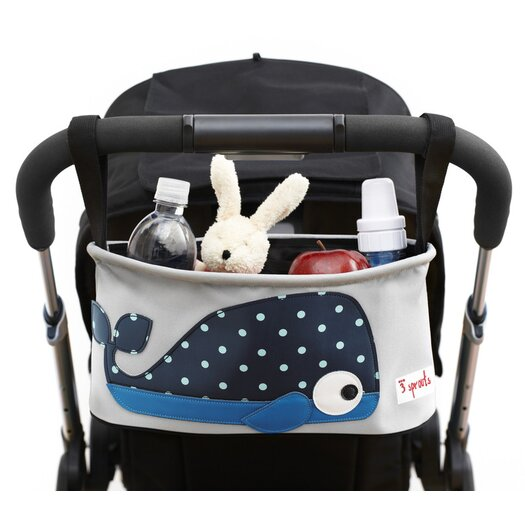 3 Sprouts Whale Stroller Organizer
