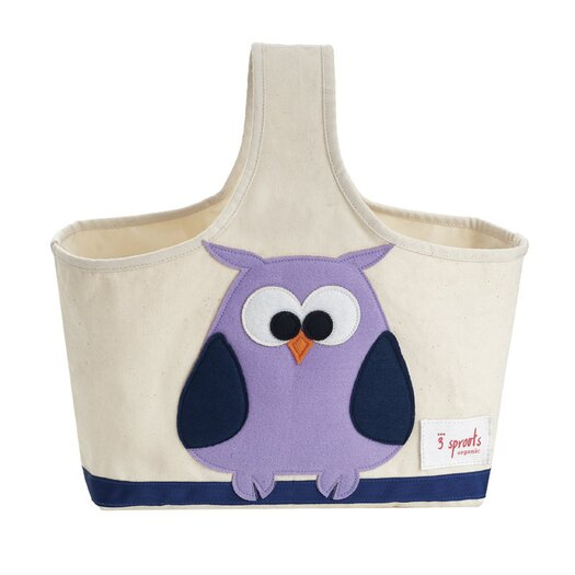 3 Sprouts Owl Storage Caddy