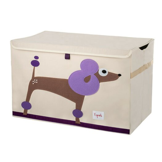 3 Sprouts Poodle Toy Chest