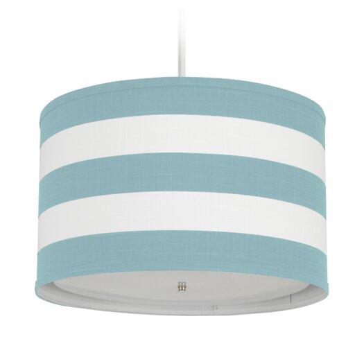 Oilo Stripe 3 Light Cylinder Pendant