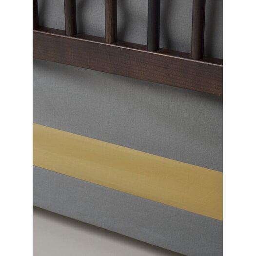 Solid Band Crib Skirt