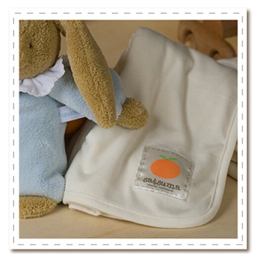Satsuma Designs LLC Bamboo Swaddling Blanket in Natural