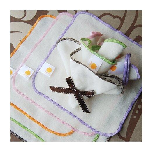 Satsuma Designs LLC Organic Flannel Wash Cloths & Wipes