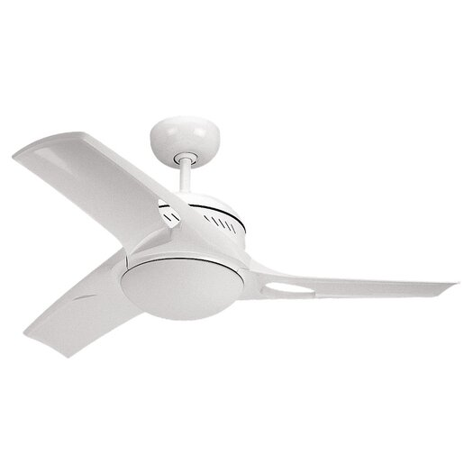 "Monte Carlo Fan Company 38"" Mach One 3 Blade Ceiling Fan with Wall Remote"