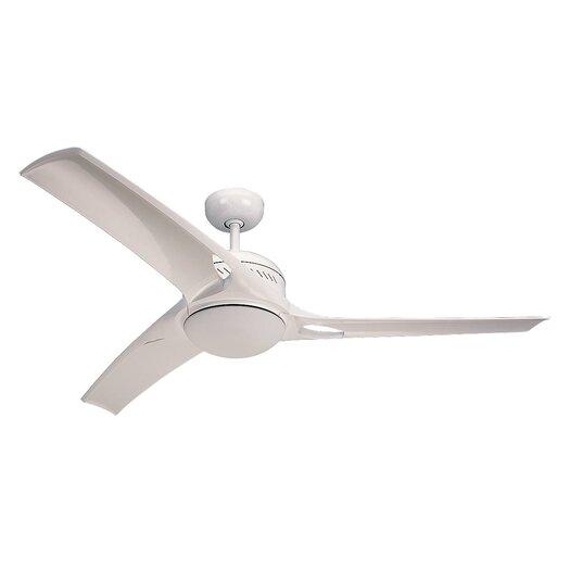 "Monte Carlo Fan Company 52"" Mach One 3 Blade Ceiling Fan with Wall Remote"