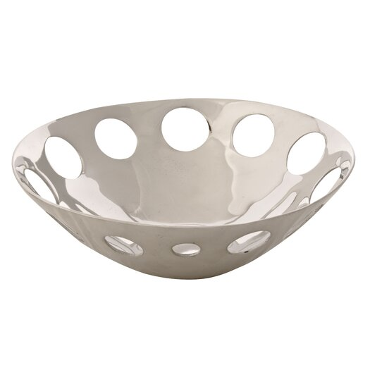 Ambiente Handmade Decorative Circles Seving Bowl