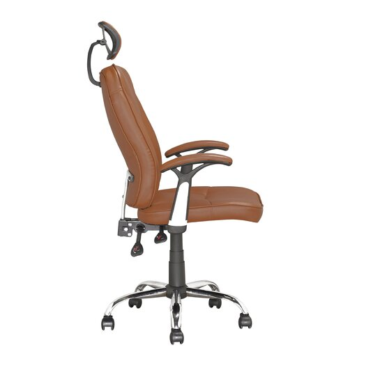 dCOR design Workspace High-Back Executive Office Chair with Arms