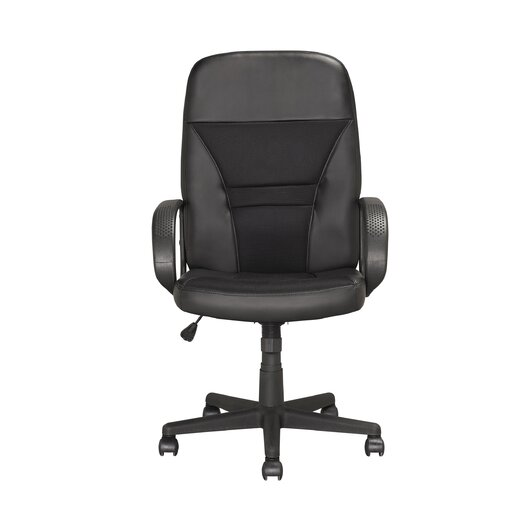 dCOR design Workspace High-Back Mesh Executive Office Chair with Arms