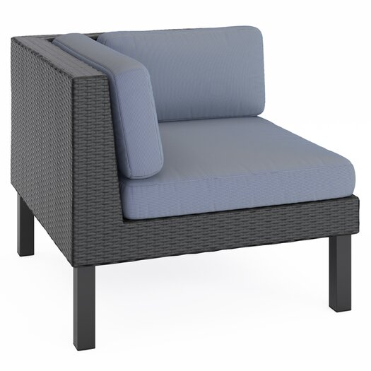 dCOR design Oakland Lounge Chair with Cushion