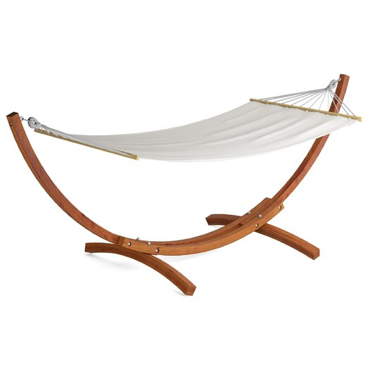 dCOR design Wood Canyon Patio Hammock with Stand