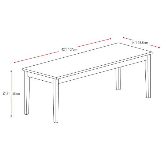 dCOR design Atwood Kitchen Bench