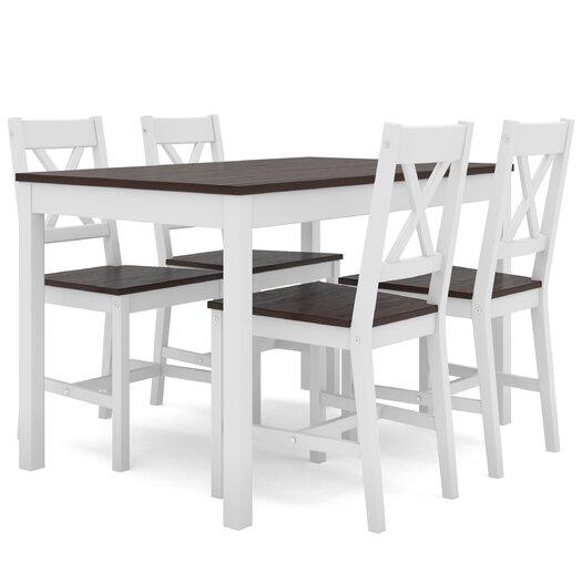 dCOR design 5 Piece Dining Set
