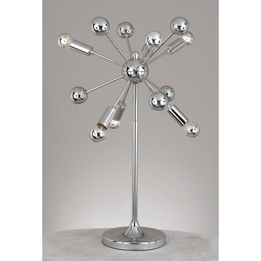 "AF Lighting Supernova 25"" H Table Lamp"
