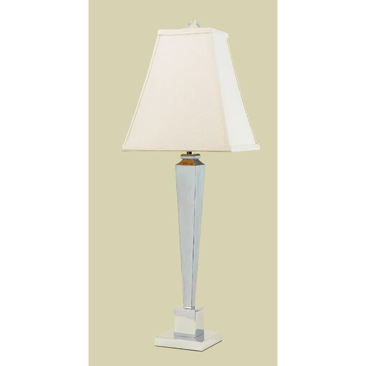 """AF Lighting Margo 32"""" H Table Lamp with Square Shade"""