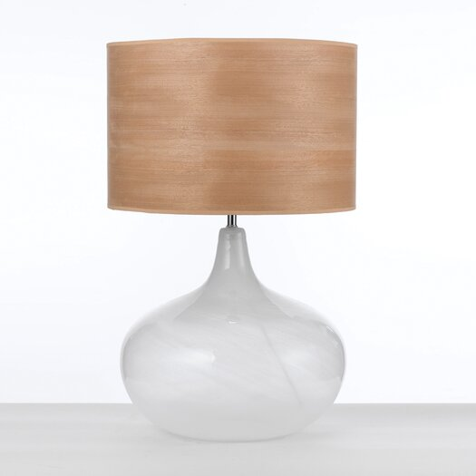 "AF Lighting Playa 27"" H Table Lamp with Drum Shade"